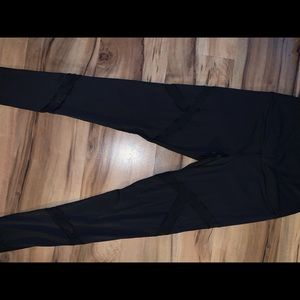 Victoria's Secret black gym pants yoga leggings